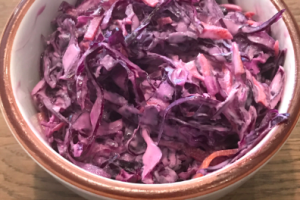 Homemade Purple Coleslaw - delivery menu