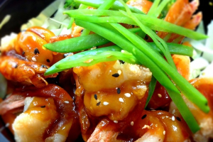 Shrimp Teriyaki - delivery menu