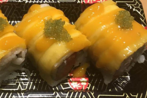 Golden Dragon Roll - delivery menu