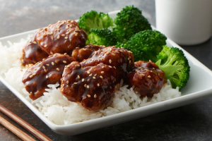 L11. Sesame Chicken Lunch Plate - delivery menu
