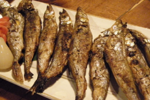 Grilled Capelin - delivery menu