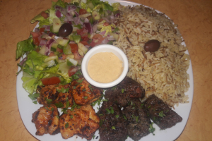 Lamb Shish and Chicken Shish Combo - delivery menu