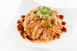 Salmon Avocado Ball - delivery menu