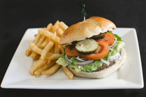 1/2 LB Angus Beef Cheeseburger - delivery menu