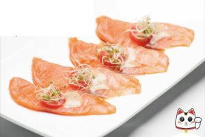 Salmon Tiradito - delivery menu