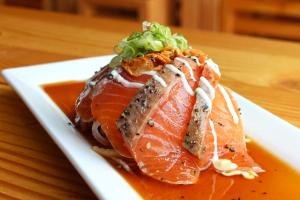 Salmon Tatarki - delivery menu