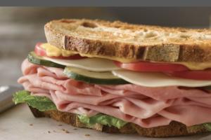Deluxe Ham Sandwich - delivery menu