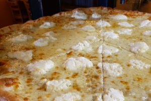 Giant White Pizza Slice - delivery menu
