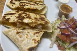Shrimp  American Quesadilla - delivery menu