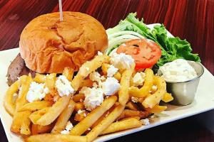 Greek Freak Burger - delivery menu