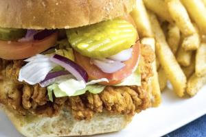 Crispy Chicken Breast Sandwich - delivery menu