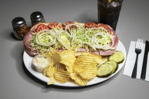 Chicken Italiano Sandwich - delivery menu