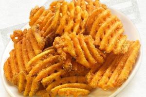 Seasoned Waffle Fries - delivery menu