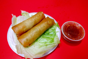 8. 2 Egg Roll - delivery menu