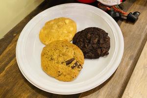 Cookies - delivery menu