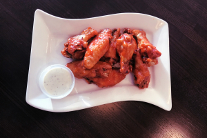 10 Piece Famous BBQ Wings - delivery menu