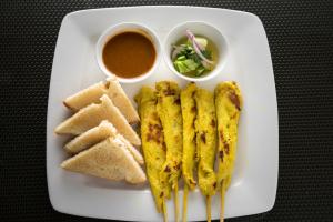 7. Satay - delivery menu