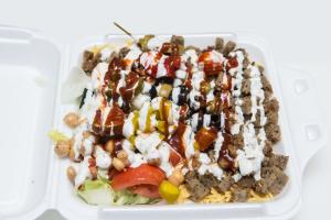 2. Lamb Rice Platter - delivery menu