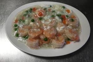 60. Shrimp with Lobster Sauce - delivery menu