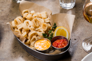 Fried Point Judith Calamari - delivery menu