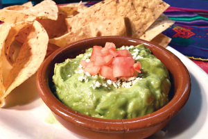 Guacamole and Chips - delivery menu