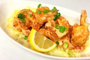 """""""Bang Bang"""" shrimp - delivery menu"""