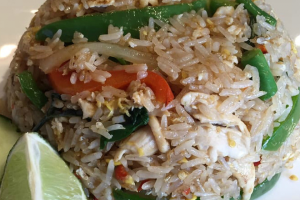 Fr3. Spicy Basil Fried Rice - delivery menu