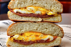 Pork Roll with Egg, and Cheese - delivery menu
