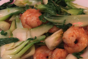 Shrimp with Bok Choy - delivery menu