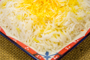 SAFFRON RICE - delivery menu