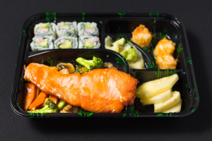 A. Teriyaki Bento Box - delivery menu
