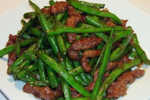 String Bean Beef - delivery menu