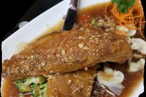 Garlic Sauce Fish - delivery menu