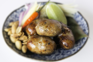 Isaan Sausage Plate - delivery menu