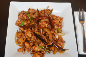 Spicy Peppercorn Chicken - delivery menu