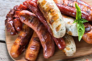 Grilled Sausages Tray - delivery menu