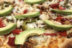 Fajita Pizza - delivery menu
