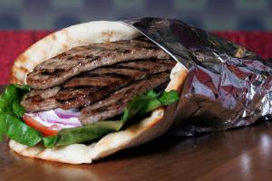 Beef Gyro - delivery menu