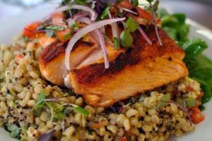 18. Crispy Salmon - delivery menu