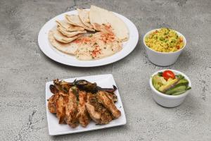 Chicken Kebab Entree - delivery menu