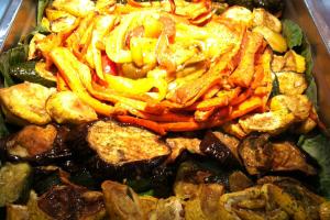 1 lb. Grilled Vegetables - delivery menu