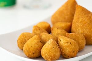 10 Coxinha Bites  ( Mini Chicken Croquettes ) - delivery menu