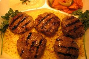 Kifta Kabob Entree - delivery menu
