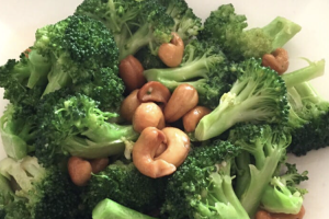 109. Broccoli and Cashew - delivery menu
