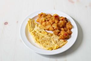 1. 2 Eggs Platter - delivery menu