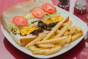 Philly Cheese Steak Sandwich - delivery menu