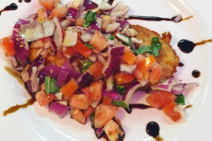 Chicken Bruschetta - delivery menu