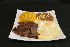 Huevos con Bistek - delivery menu