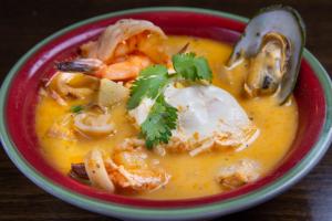 Chupe de Mariscos - delivery menu