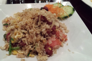 Thai Sausage Fried Rice - delivery menu